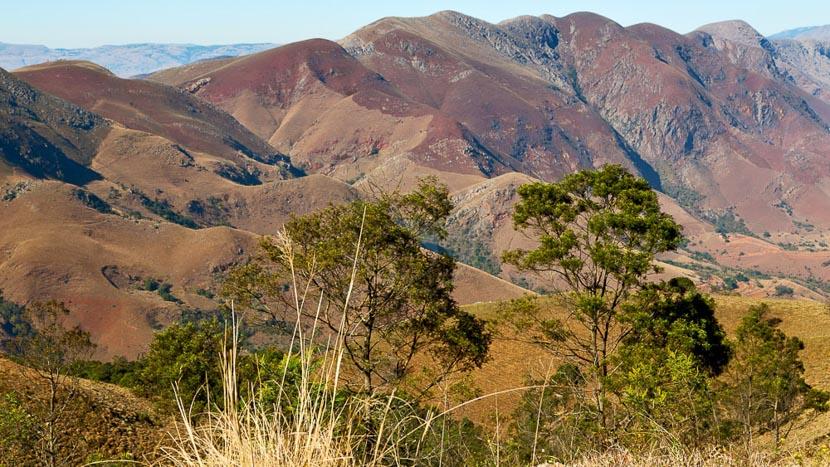 Eswatini (ex-Swaziland), Paysages autour de Mlilwane, Swaziland