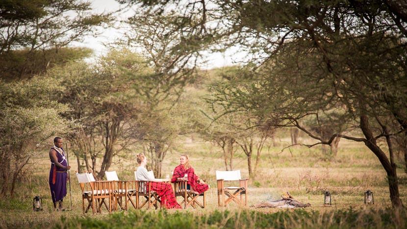 L'exclusivité en camp mobile de luxe, Akiba Kibwe Serengeti, Tanzanie