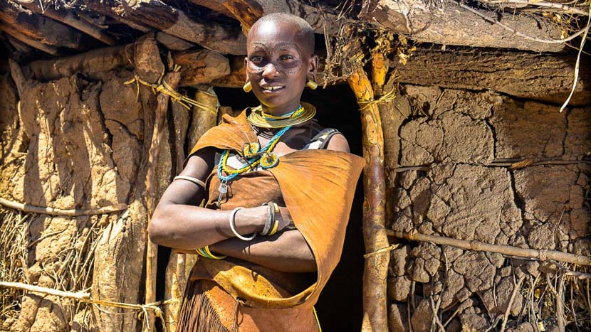 Coucher de soleil avec la tribu Datoga, Village Gatoga, Tanzanie © Tawisa