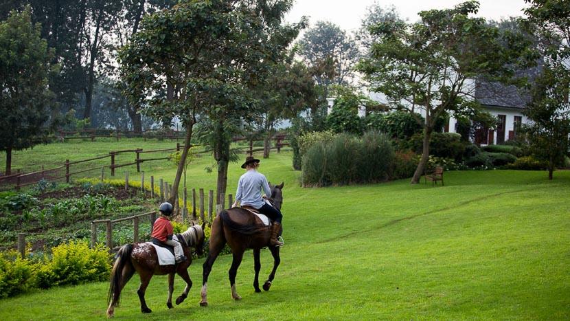 Balade à cheval au The Manor at Ngorongoro, The Manor Ngorongoro, Tanzanie © Niels van Gijn