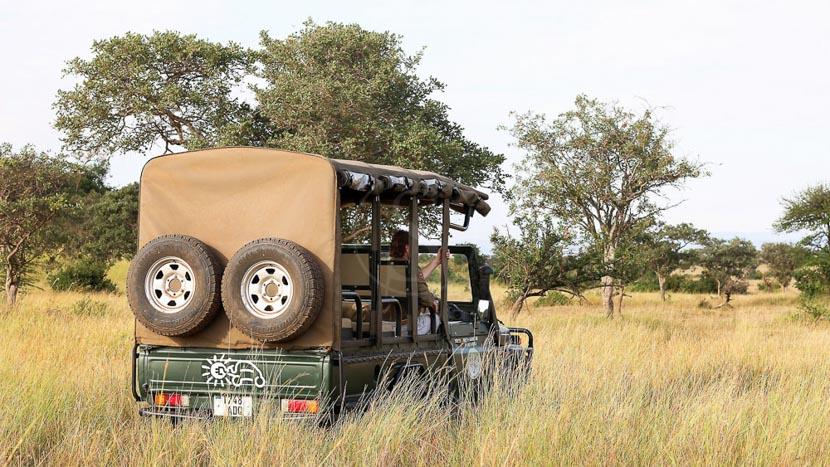 Safaris en 4x4 électrique au Mara River Post, Safari Electrique, Tanzanie
