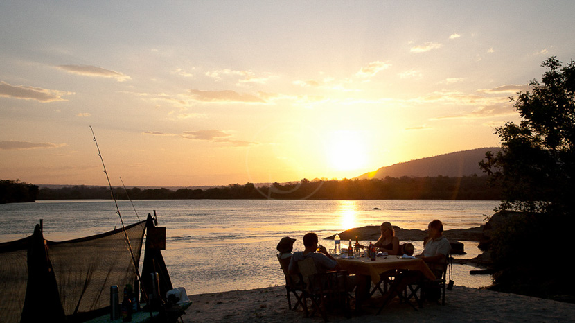 Camping improvisé dans le Selous, Sand Rivers Selous, Tanzanie © Nomad