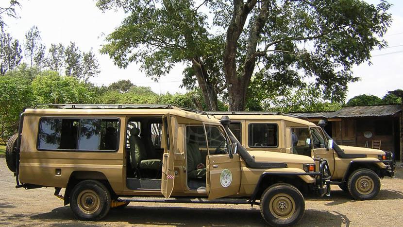 Nos véhicules 4x4 en Tanzanie, Safaris en Tanzanie