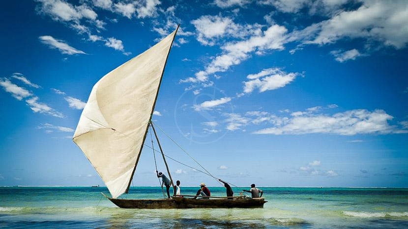 Balade en dhow sur la côte de Zanzibar, Chuini Zanzibar Beach Lodge, Tanzanie