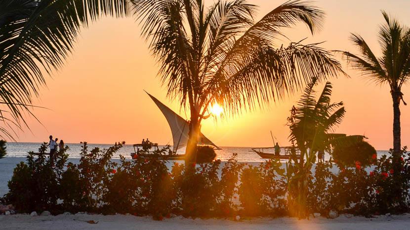Balade en dhow sur la côte de Zanzibar, Gold Zanzibar Beach House & Spa, Tanzanie