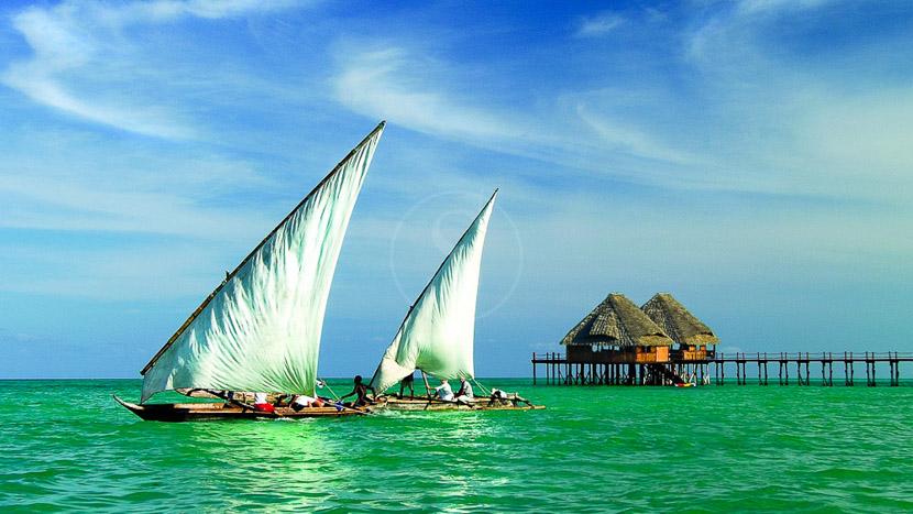 Balade en dhow sur la côte de Zanzibar, Mélia Zanzibar, Tanzanie