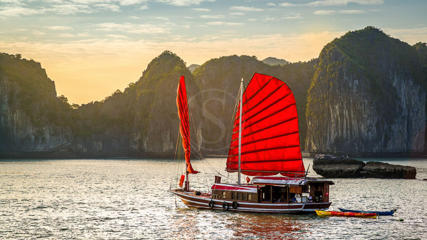 Baie d'Halong, Baie d'Halong, Vietnam