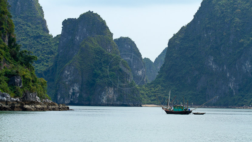 Baie d'Halong, Balade dans la Baie d'Halong, Vietnam