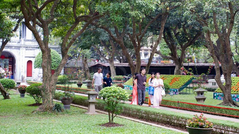 Hà Nội, Temple de la littérature à Hanoï, Vietnam