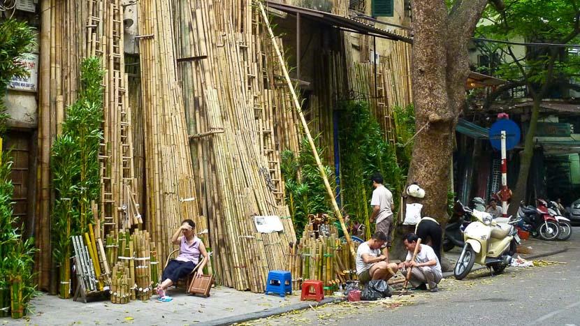 Quartier des 36 rues, Le quartier des 36 rues, Hanoï