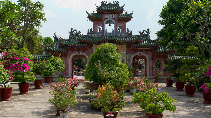 Hội An, Temple Quang Dong ou temple cantonnais à Hoi Han