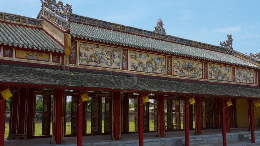 Cité impériale de Hue , Cité impériale à Hué, Vietnam