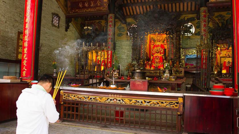 Visite de Saigon, Le temple de Thiên Hậu (ou temple de la Dame Céleste, Saigon