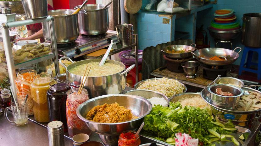 Visite de Saigon, Marché Cho Lon de Saîgon
