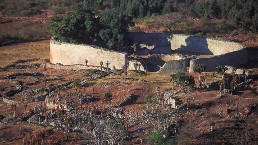 Ruines du Grand Zimbabwe, Great Zimbabwe, Zimbabwe © L. Guillot