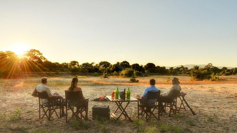 Parc national de Mana Pools, Kanga Camp, Zimbabwe © African Bush Camps