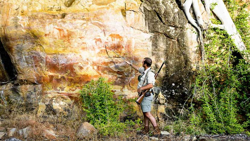 Art rupestre des Matopos, Singita Pamushana, Zimbabwe © Singita