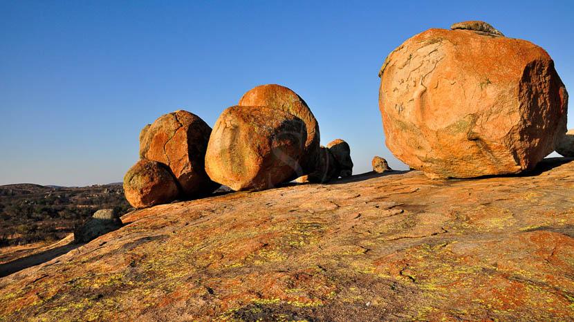 Coucher de soleil sur les Matopos, View of the World, Matapos, Zimbabwe