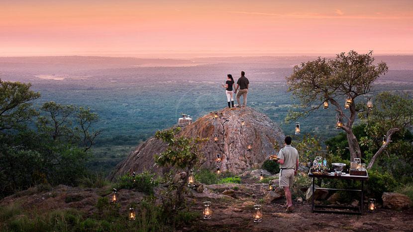 &Beyond Phinda Rock Lodge, Phinda Rock Lodge, Afrique du Sud