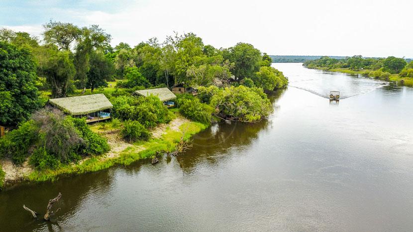 Chundu Island Lodge, Chundu Island Lodge, Afrique du Sud