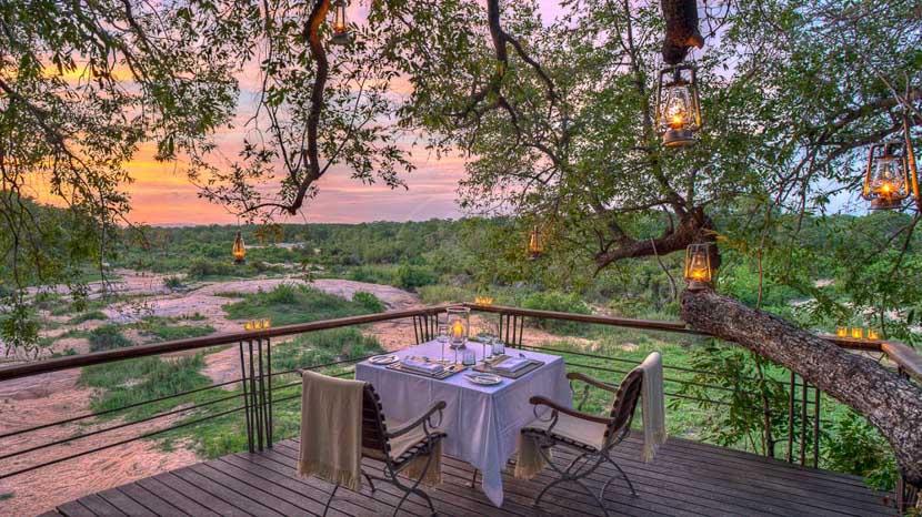 Dulini Leadwood Lodge, Dulini, Réserve de Sabi Sand, Afrique du Sud © Dulini