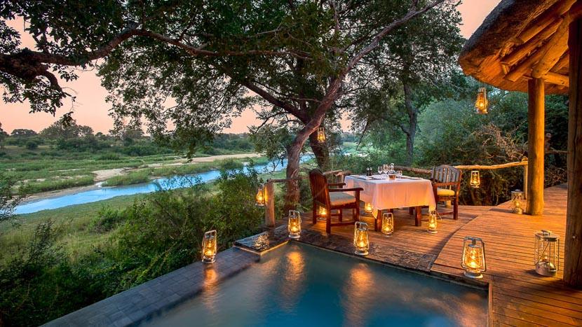 Dulini River Lodge, Dulini, Réserve de Sabi Sand, Afrique du Sud © Dulini