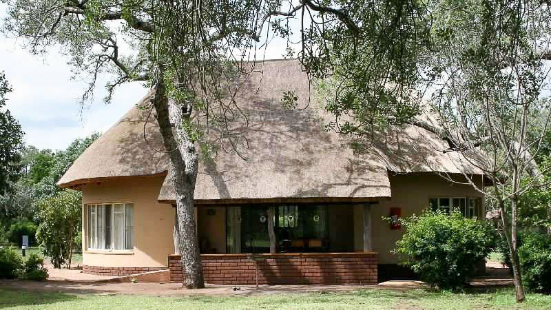 Letaba Rest Camp, Bungalow de Satara, Parc Kruger, Afrique du Sud