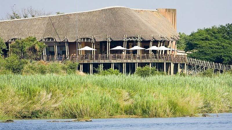 Lower Sabie Rest Camp, Restaurant de Lower Sabie, Parc Kruger, Afrique du Sud