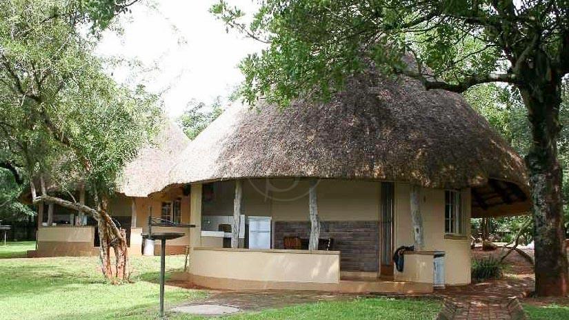 Lower Sabie Rest Camp, Crocodile Bridge, Parc Kruger, Afrique du Sud