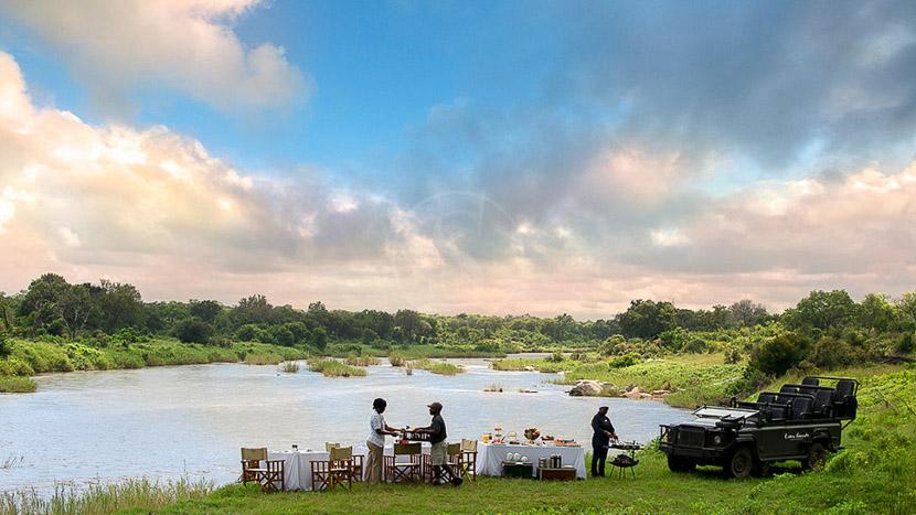 Lion Sands Tinga Lodge, Narina Lodge de Lion Sands, Afrique du Sud