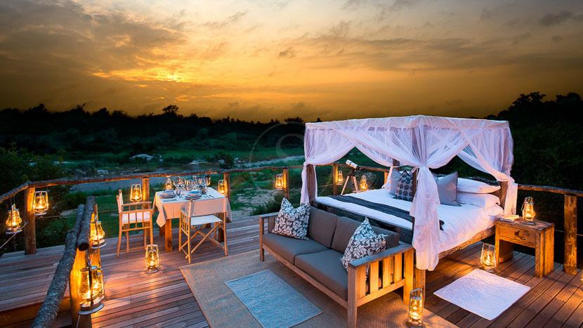 Lion Sands Tinga Lodge, Tinyeleti House, Afrique du Sud