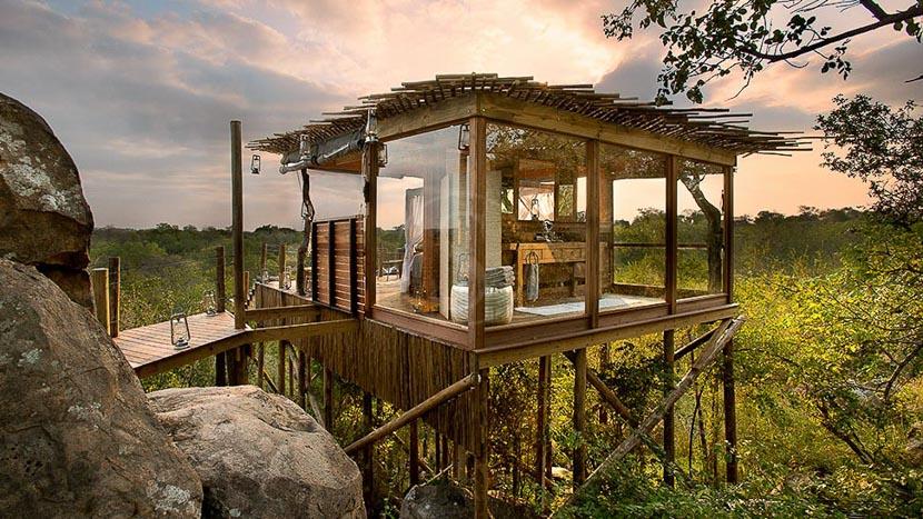 Lion Sands Tinga Lodge, Kingstone Treehouse de Lion Sands, Afrique du Sud