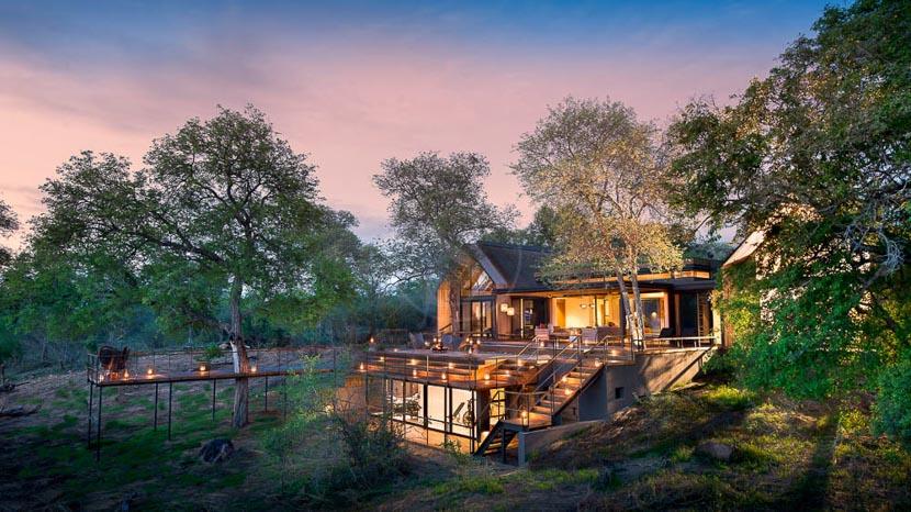 More Treehouses à Lion Sands, Lion Sands Ivory Lodge, Afrique du Sud © More Properties