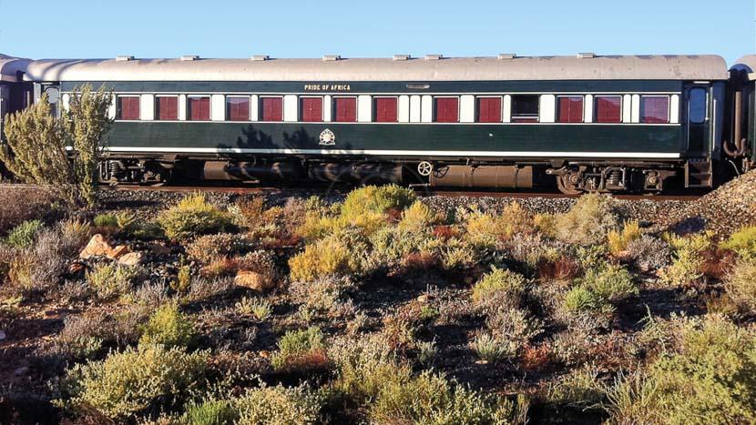Rovos Rail de Pretoria à Capetown, Rovos Rail, Afrique du Sud © Rovos Rail