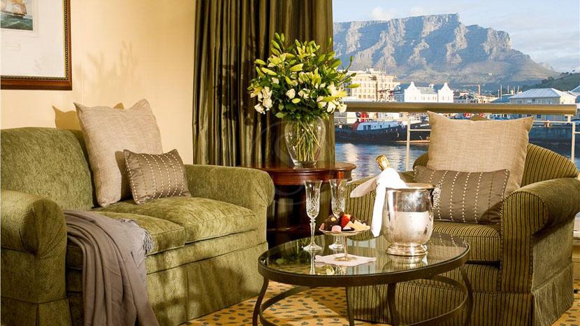 Table Bay Hotel, Table Bay Hôtel de Cape Town, Afrique du Sud © Table Bay Hotel