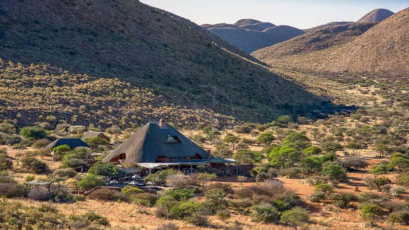 Tswalu Kalahari Lodge, Tswalu Game Reserve, Afrique du Sud