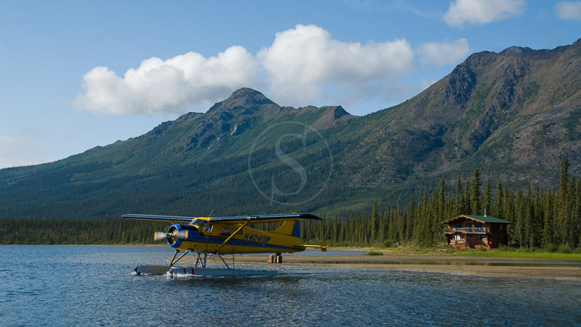 Iniakuk Lake Wilderness Lodge, Iniakuk Lake Outlet, Alaska © Iniakuk - J. Gaedeke