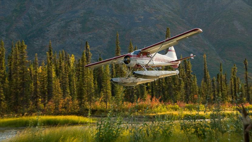 Iniakuk Lake Wilderness Lodge, Iniakuk Lake Outlet, Alaska © Iniakuk - J. Gaedeke