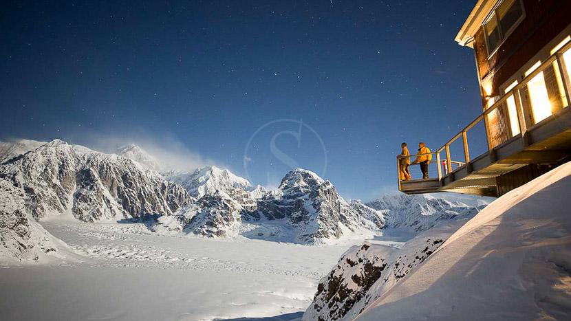 Sheldon Chalet, Sheldon chalet, Alaska, Etats Unis