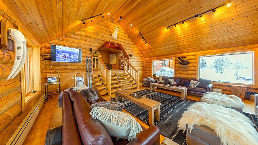 Tordrillo Mountain Lodge, Tordrillo Mountain Lodge, Alaska © Jonathan Selkowitz