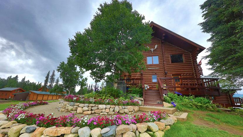 Tordrillo Mountain Lodge, Tordrillo Mountain Lodge, Alaska © Entree Alaska