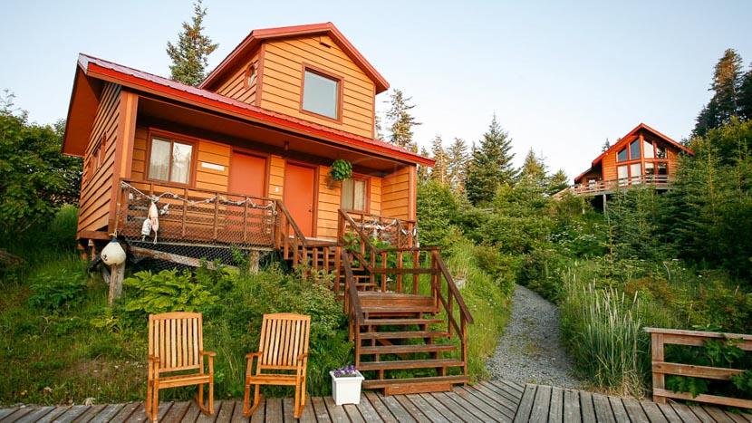 Tutka Bay Lodge, Tutka bay lodge, Alasla, Etats Unis