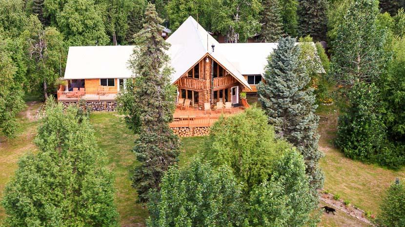 Winterlake Lodge, Winterlake Lodge, Alaska, Etats Unis © Jeff Schultz