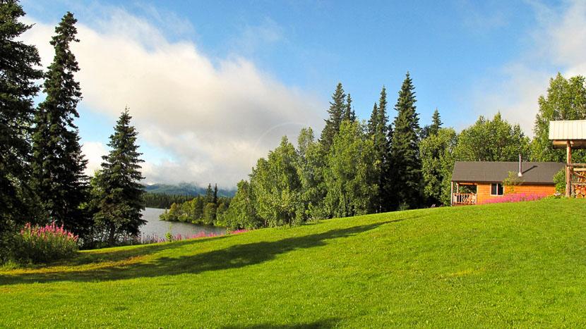 Winterlake Lodge, Winterlake Lodge, Alaska, Etats Unis © Tyrone potgieter