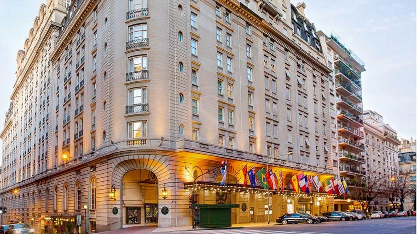 Hôtel Alvear Palace, Alvear Palace Hotel, Argentine