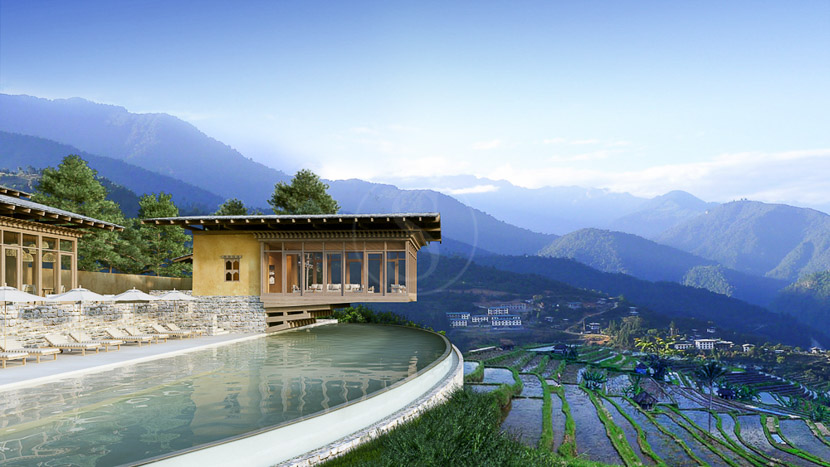 Six Senses Punakha, Six Senses, Bhoutan © Six Senses