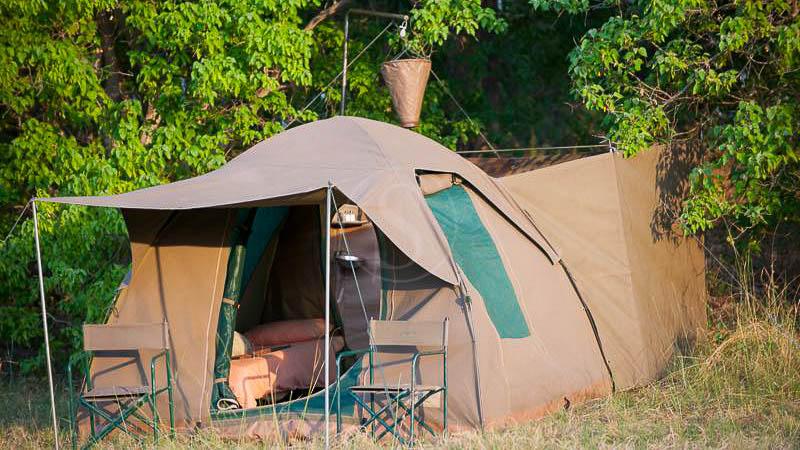 Campement itinérant au Botswana , Safari en campement itinérant, Botswana © Tous droits réservés