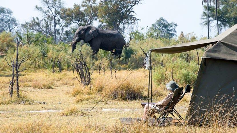 Camp mobile au Botswana &Beyond, andBeyond Explorer Safari, Botswana © &Beyond