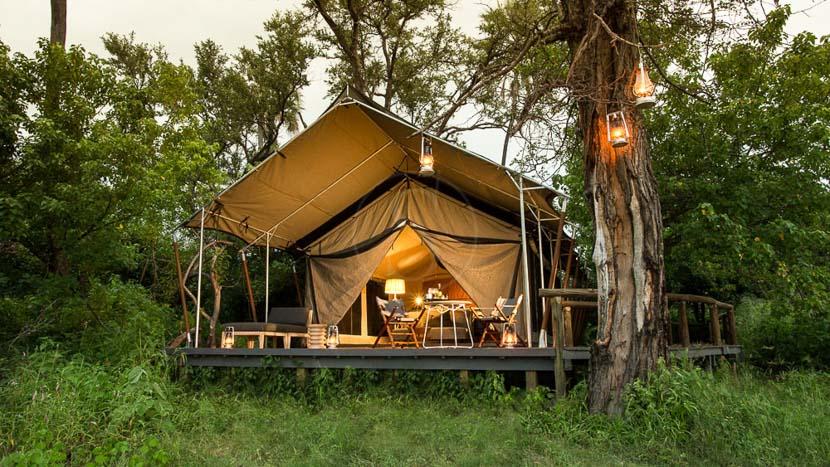 Gomoti Plains Camp, Gomoti Plains, Botswana