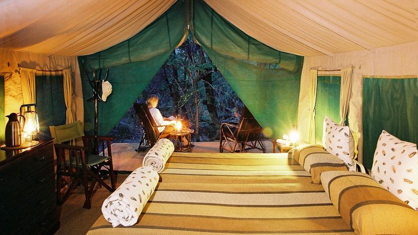 Mashatu Tent Camp, Mashatu Game Reserve
